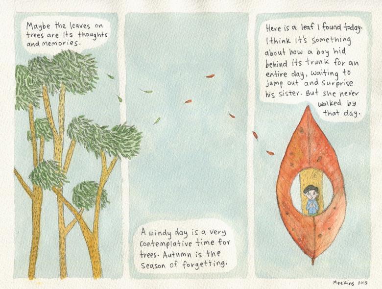 Leaf memories