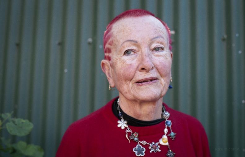 Portrait series for Jan Blake - artist