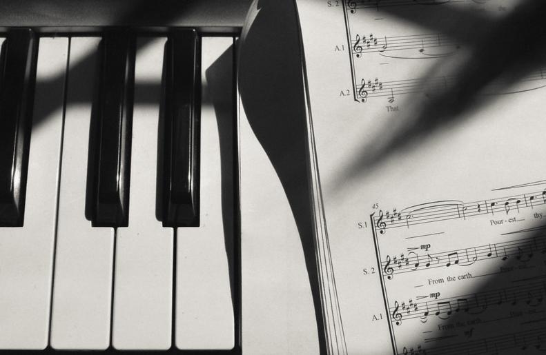 Portrait series of Helen Grimley - music composer