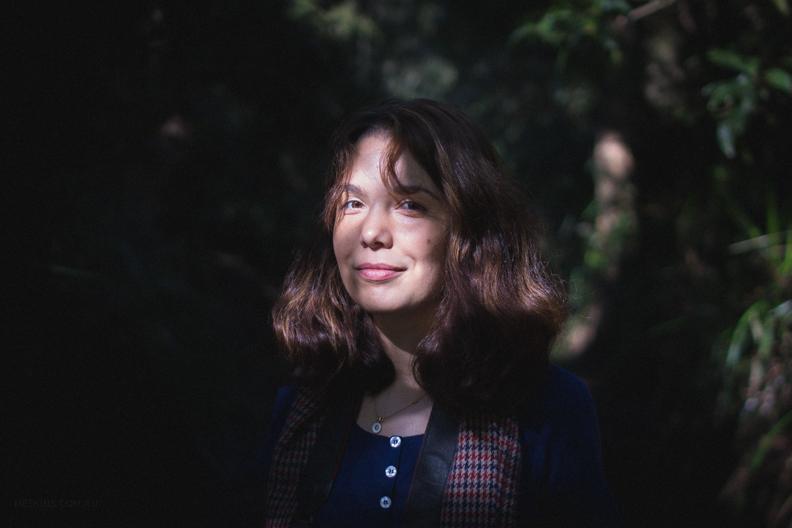 On a bush walk with my sister, Victoria, Australia.