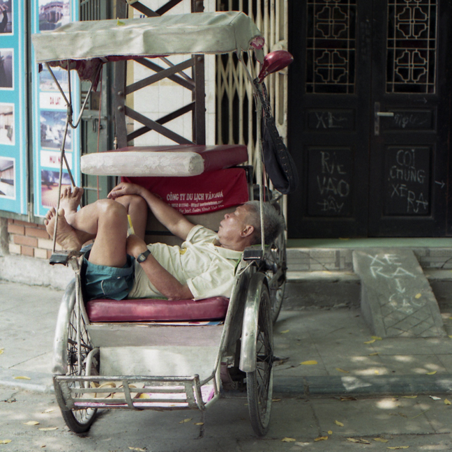 Resting. I love his feet. Taken in Saigon, Vietnam.